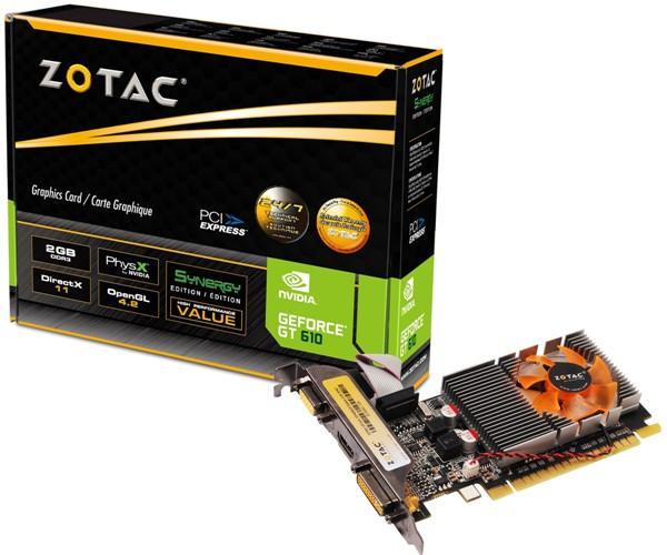 ZOTAC GeForce GT 610 Synergy Editi