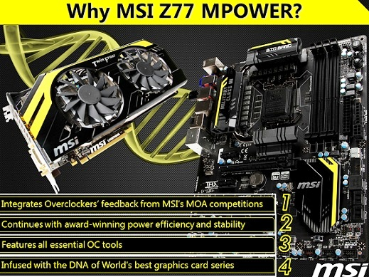 MSI Big Bang Mpower Z77