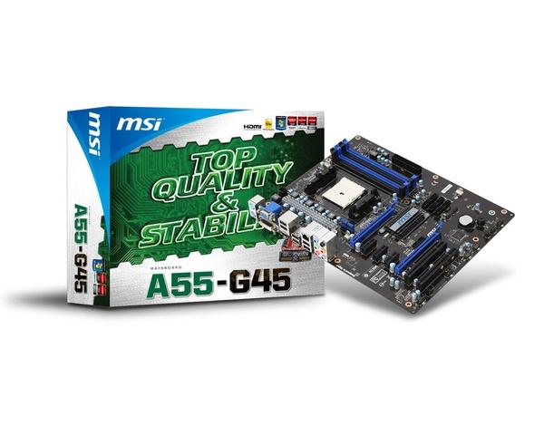 MSI A55M-P35 OverClocking Center 64 BIT Driver