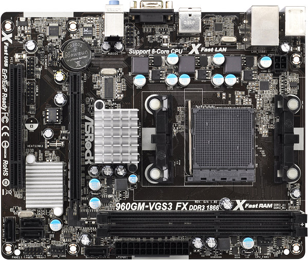 Asrock 960GM/U3S3 FX AMD Live Driver for Windows Mac