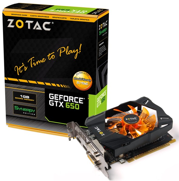 ZOTAC GeForce GTX 650 Synergy Edition