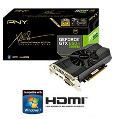 PNY GeForce GTX 650 Ti BOOST