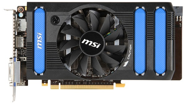 MSI GeForce GTX 650 Ti BOOST