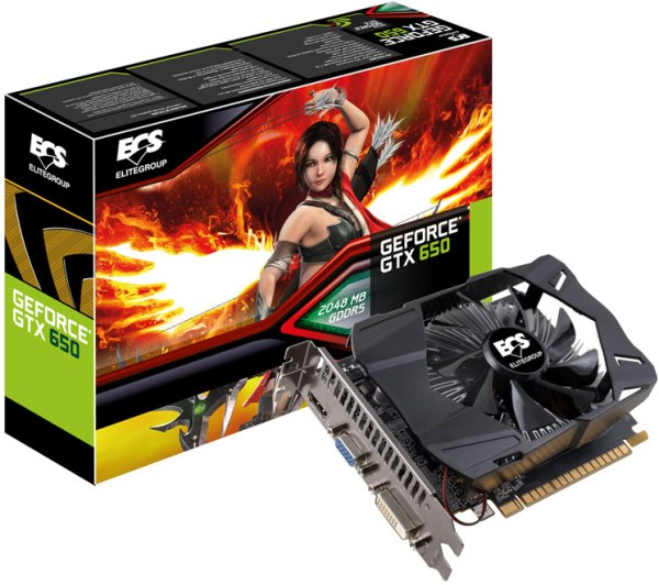 ECS GeForce GTX 650