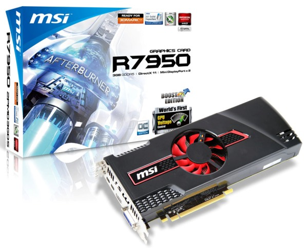 MSI Radeon HD 7950 Boost Edition