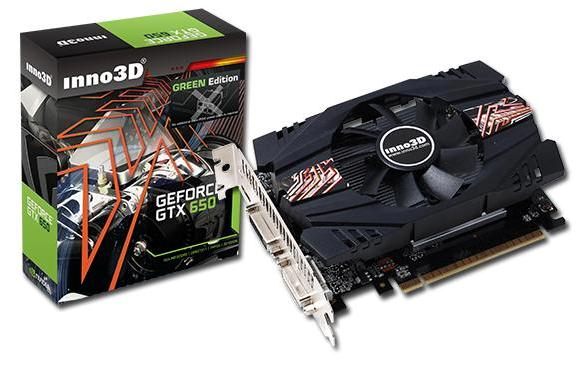 Inno3D GeForce GTX 650 Green Rev2