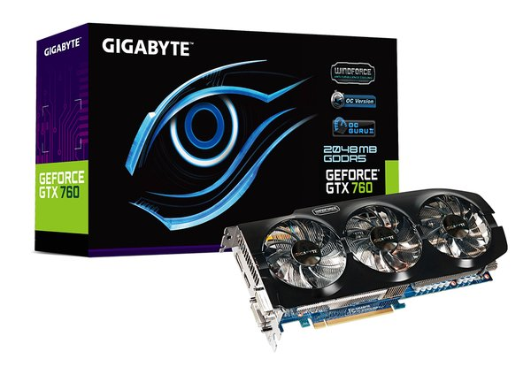 GIGABYTE GeForce GTX 760 WINDFORCE 3X