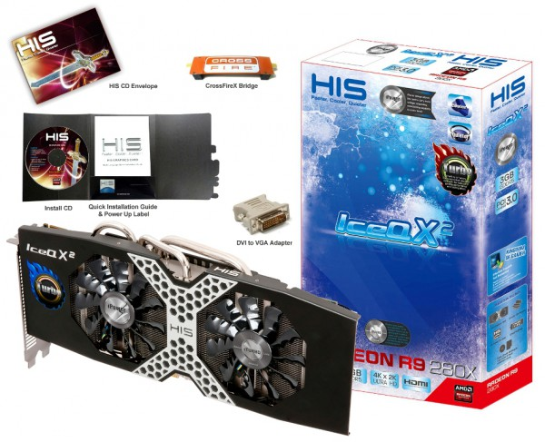 HIS Radeon R9 280X iPower IceQ X2 Boost Clock