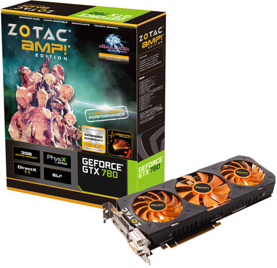 Zotac GeForce GTX 780 Triple Silencer AMP! Edition