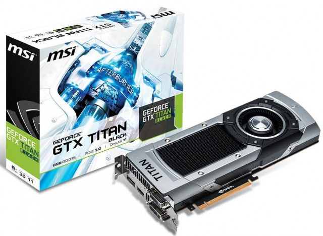 MSI GeForce GTX TITAN Black (NTITAN Black 6GD5)
