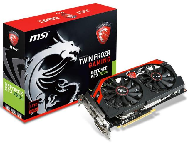 MSI GeForce GTX 780Ti GAMING 3G LE