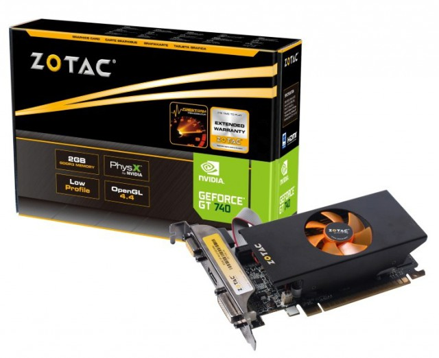 ZOTAC GeForce GT 740