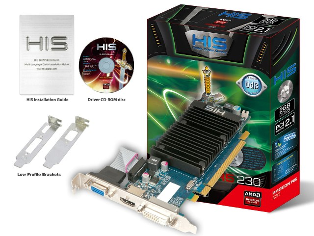 HIS R5 230 Silence 2GB DDR3