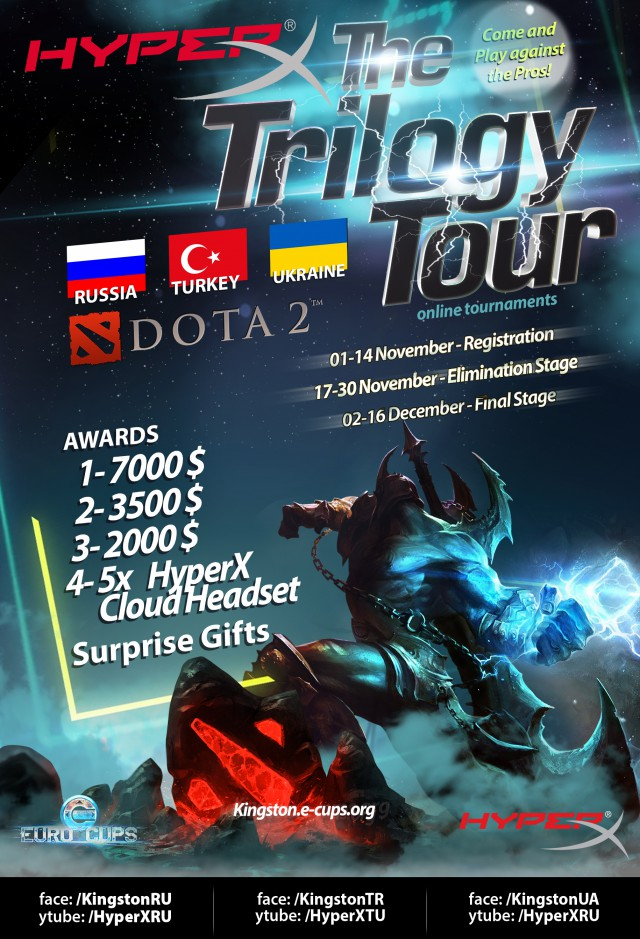 HyperX Trilogy Tour