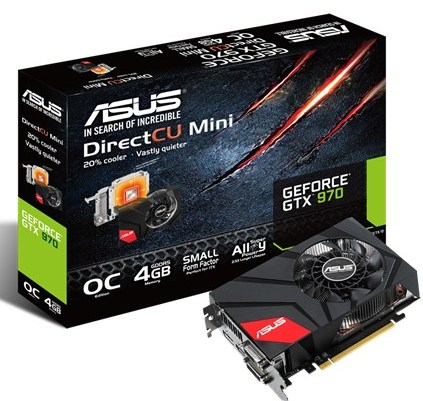 ASUS GeForce GTX 970 DirectCU Mini OC (GTX970-DCMOC-4GD5)