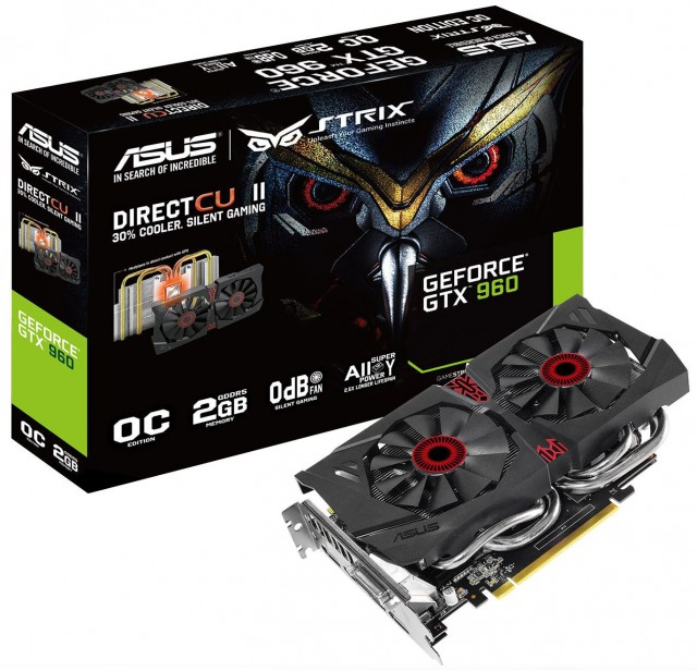 ASUS STRIX GeForce GTX 960