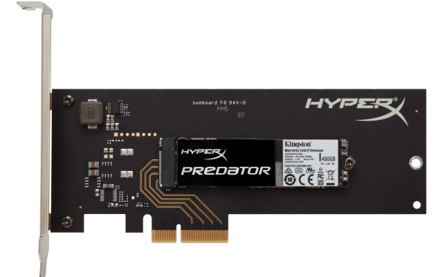 Kingston HyperX Predator PCIe