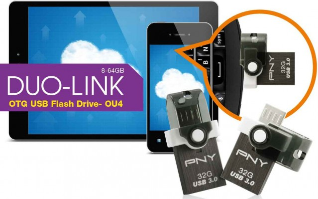 PNY DUO-LINK OU4 OTG USB 3.0