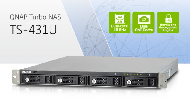 QNAP TS-431U Turbo NAS