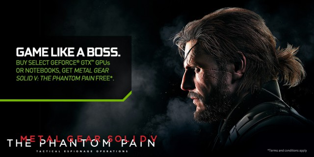NVIDIA Metal Gear Solid V: The Phantom Pain