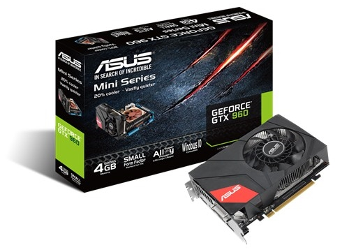 ASUS GeForce GTX 960 Mini (GTX960-M-4GD5)