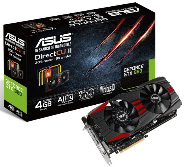 ASUS GeForce GTX 960 DC2