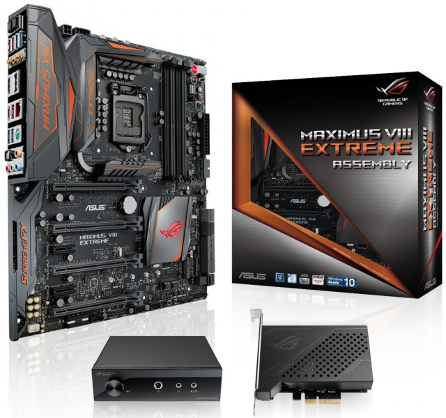 ASUS Maximus VIII Extreme/Assembly
