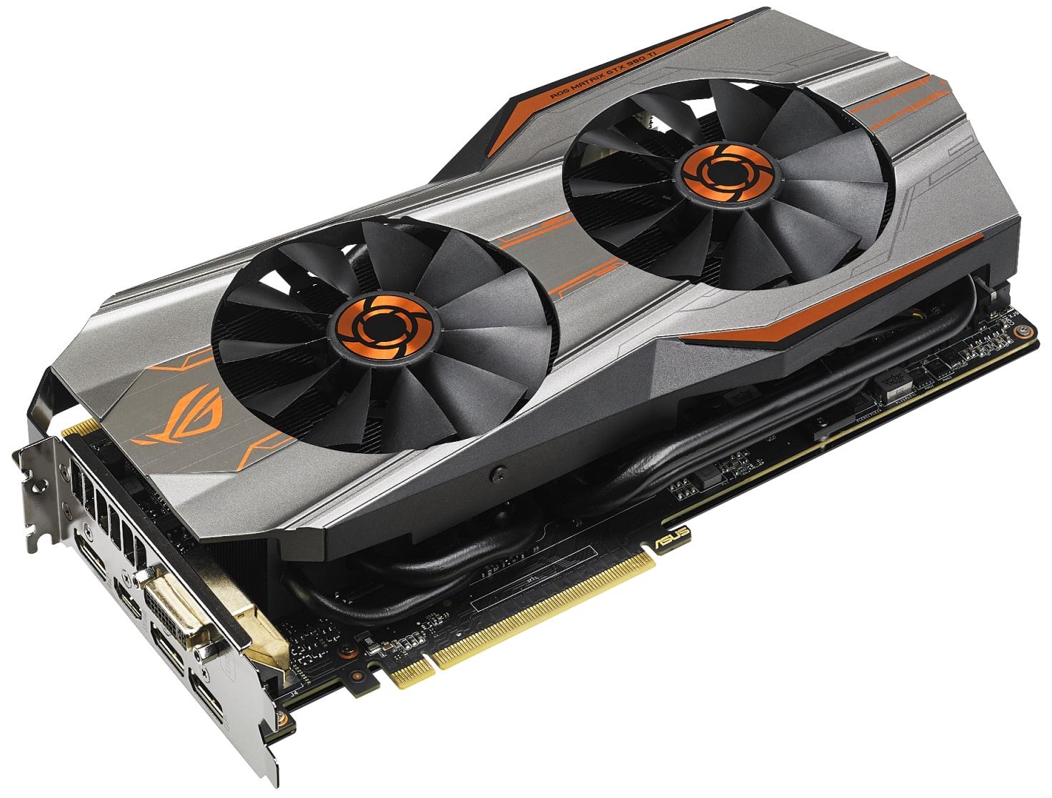 Видеокарта ASUS ROG Matrix GTX 980 Ti на 18,7% быстрее эталонных аналогов. Новости. GECID.com