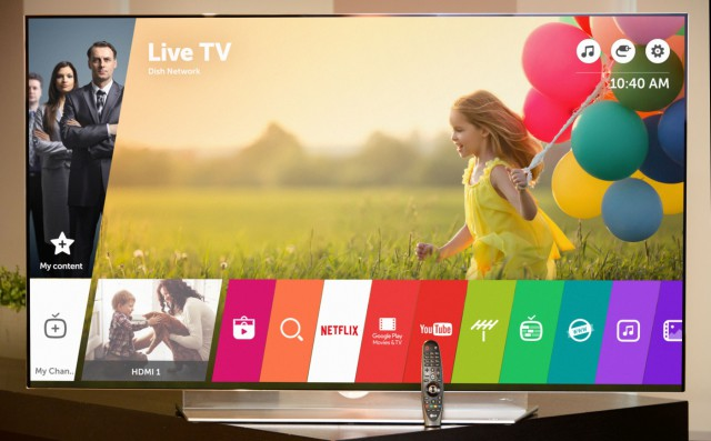 LG Smart TV webOS 3