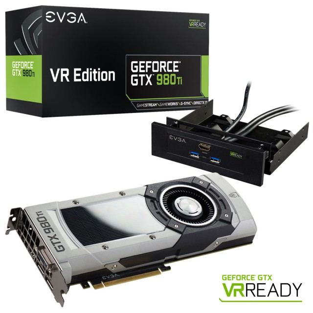 EVGA GeForce GTX 980 Ti VR EDITION GAMING