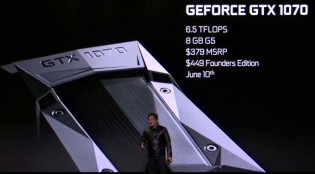 NVIDIA GeForce GTX 1080 NVIDIA GeForce GTX 1070