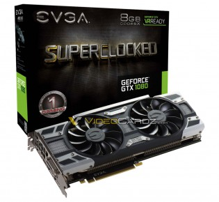 EVGA GeForce GTX 1080 SC