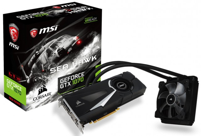 MSI GeForce GTX 1070 SEA HAWK X