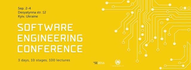 Software Engineering Conference 2016