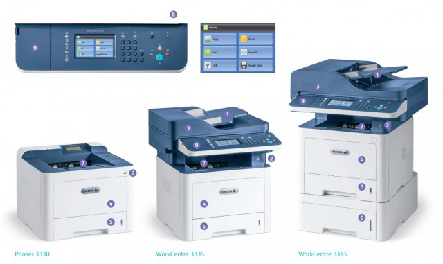 Xerox WorkCentre 3335 3345