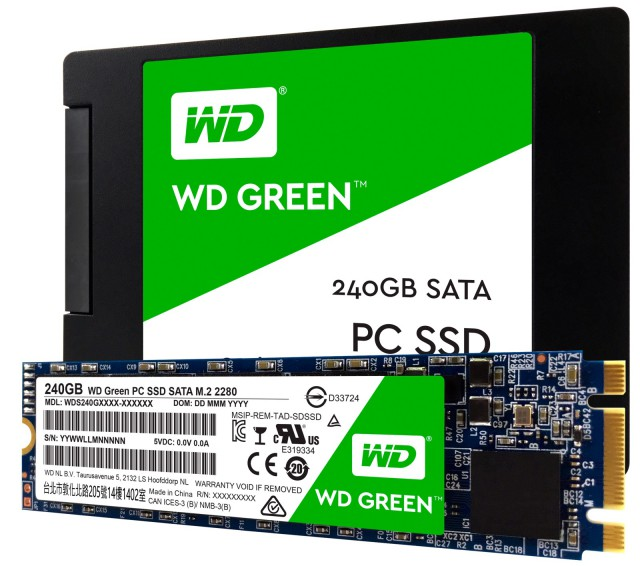 WD Green SSD
