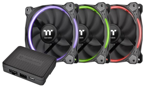 Thermaltake Riing 14 LED RGB Radiator Fan TT Premium Edition
