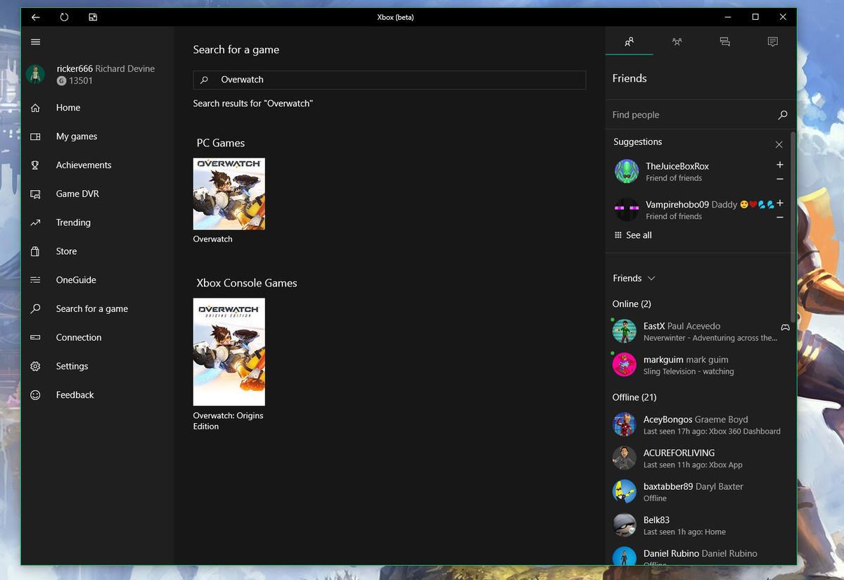 10 режим windows для игровой
