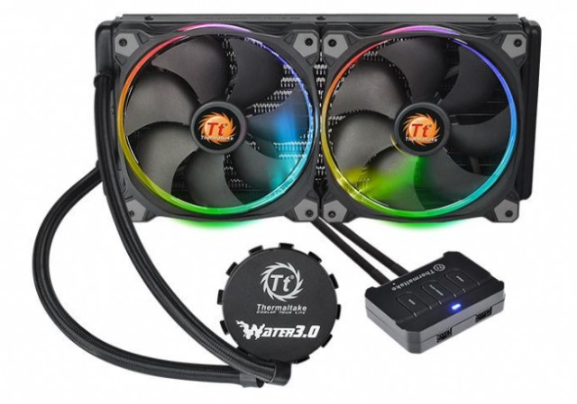 Thermaltake Water 3.0 Riing Red 280