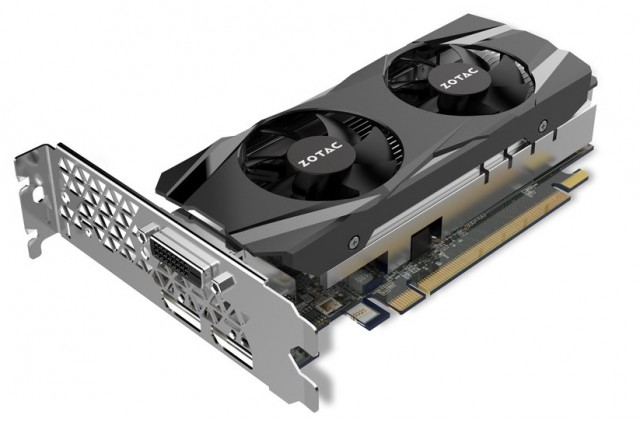 ZOTAC GeForce GTX 1050 Ti Low Profile