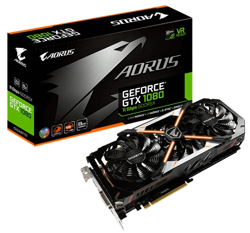 AORUS GeForce GTX 1080 8G 11Gbps