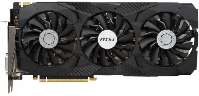 MSI GeForce GTX 1080 Ti DUKE 11G ОC