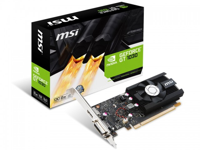 MSI GeForce GT 1030 2G LP OCV1