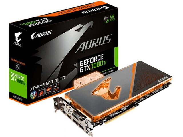 GIGABYTE GeForce GTX 1080 Ti AORUS Waterforce Extreme Edition