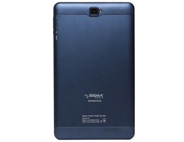 Sigma mobile X-style Tab A81
