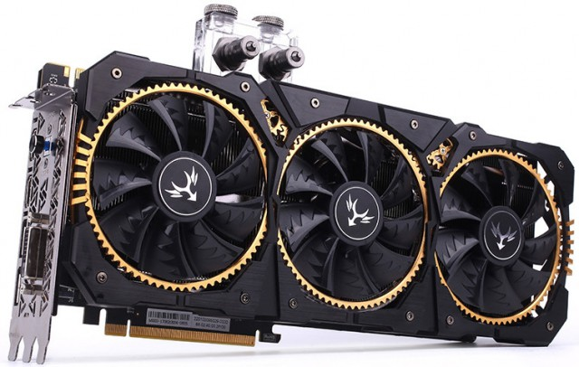 Colorful iGame GeForce GTX 1080 Ti Kudan