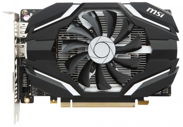 MSI GeForce GTX 1050 Ti 4G OCV1