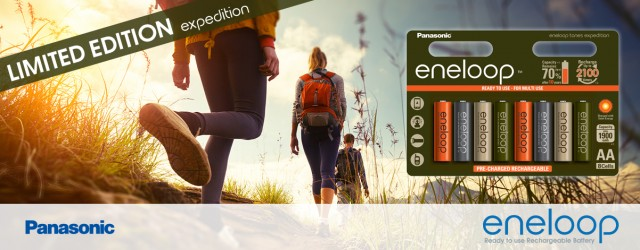 Panasonic eneloop expedition