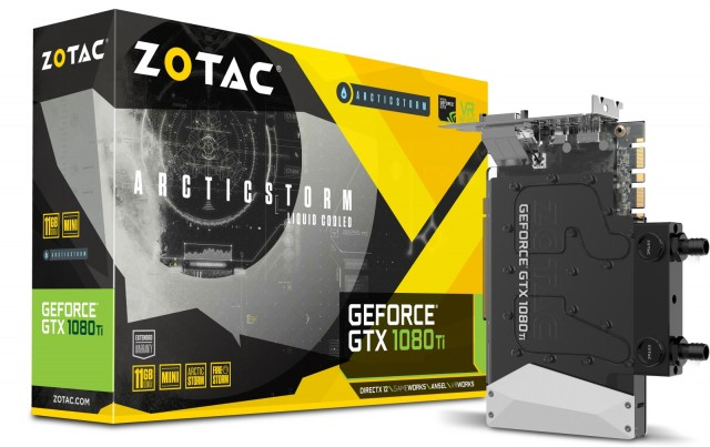 ZOTAC GeForce GTX 1080 Ti ArcticStorm Mini