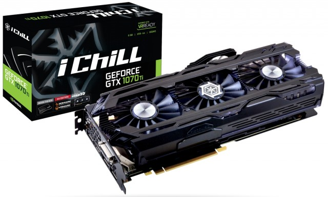 iChill GeForce GTX 1070 Ti X4